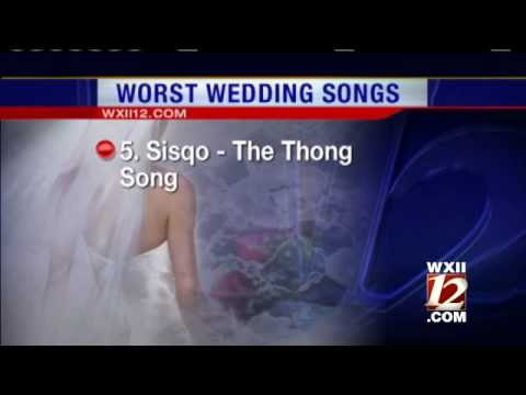 Worst Wedding Songs Ever