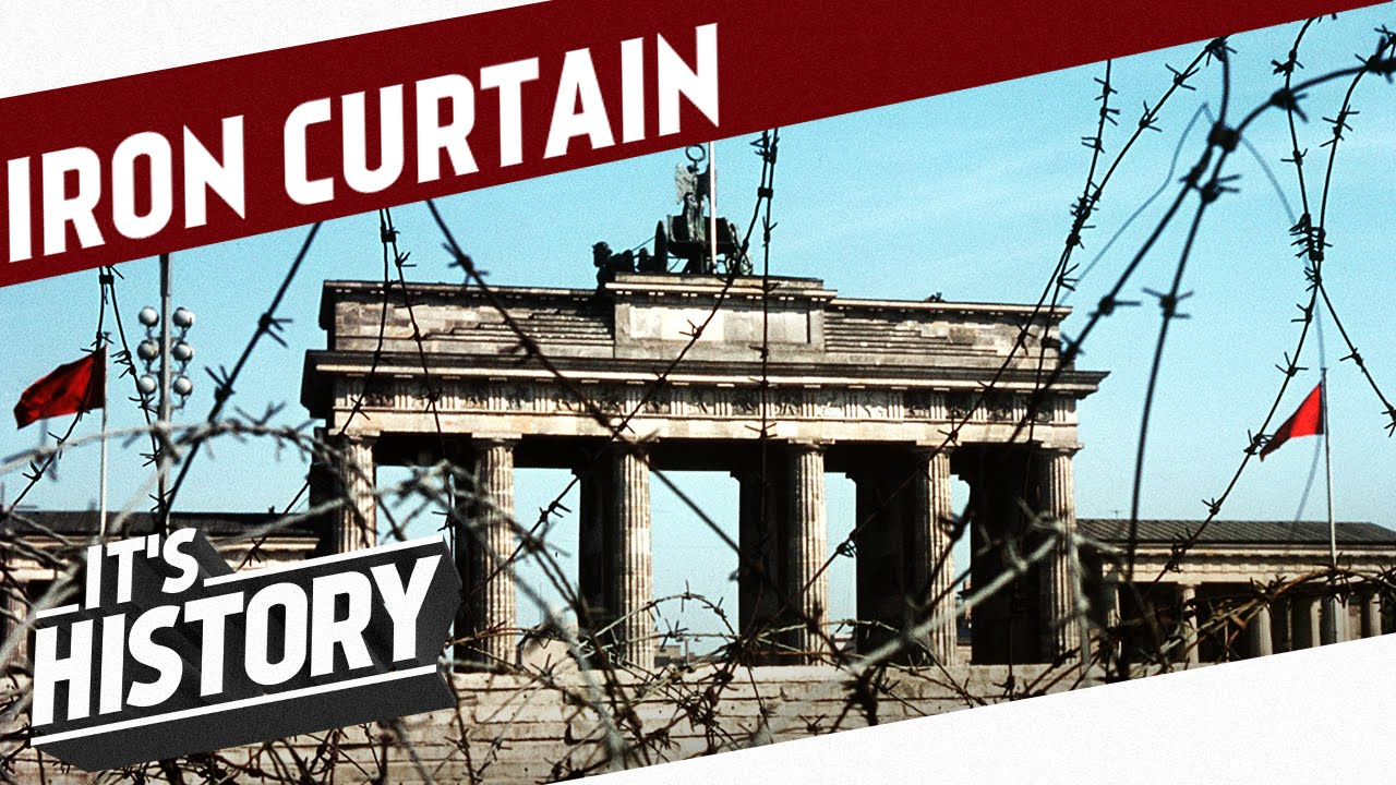Iron curtain - The Iron Curtain Has Descended And Germany Gets Divided I The Cold War