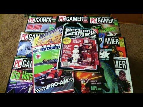 Retro Gaming Magazine Collection