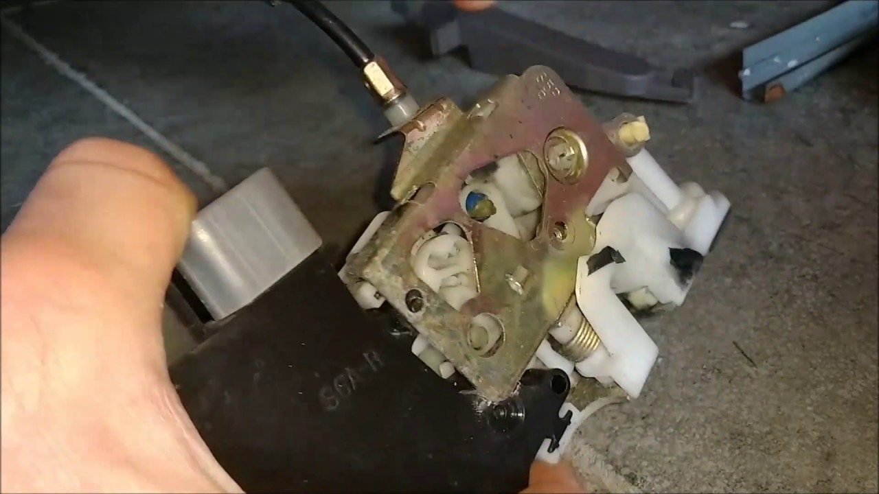 2003 Honda Civic Door Lock Actuator Removal Youtube
