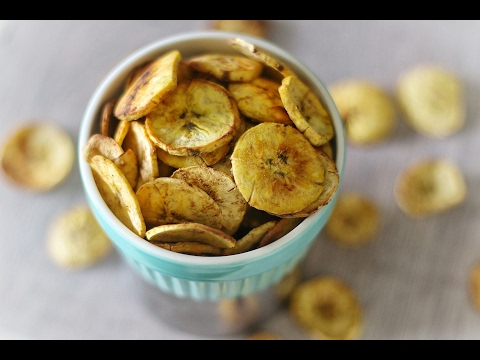 OVEN BAKED PLANTAIN CHIPS