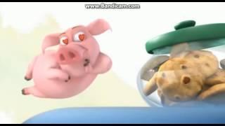 Свинка и печеньки