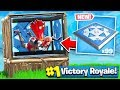 BOUNCE PAD TRAP in Fortnite: Battle Royale