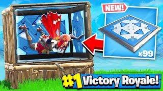 BOUNCE PAD + BOX FORT = BOUNCE ROOM!! Fortnite: Battle Royale thumbnail