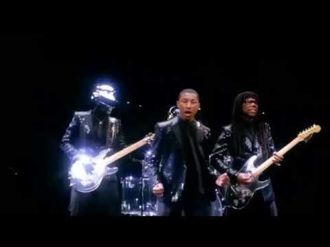 Daft Punk - Get Lucky ( Video Oficial )