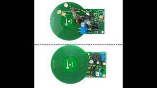 DC 3V-5V 60mm Metal Detector Kit Electronic Kit Non-contact Sensor DIY Kit KY