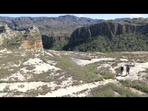 Randonnée dans le massif de l'Isalo