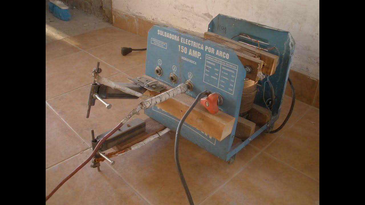 Fabricar una soldadora de punto facil y economica youtube - Como hacer una shisha casera ...