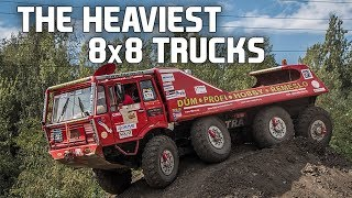 10 Of The Coolest 8x8 Driven Trucks