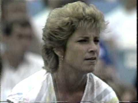 Gabriela Sabatini v Chris Evert Hilton Head 1985