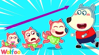 Baby's First Steps - Wolfoo Pretends to Be a Parent for Jenny | Wolfoo Channel Kids Cartoon