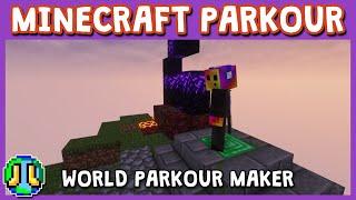 Custom Minecraft Parkour Server, World Parkour Maker, Level: Abandoned Island