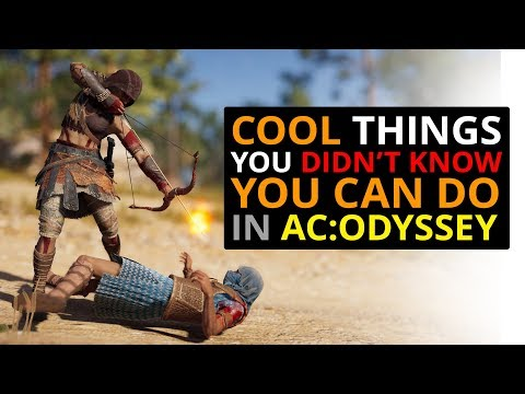 CRAZY Things You Can Do In AC Odyssey! thumbnail