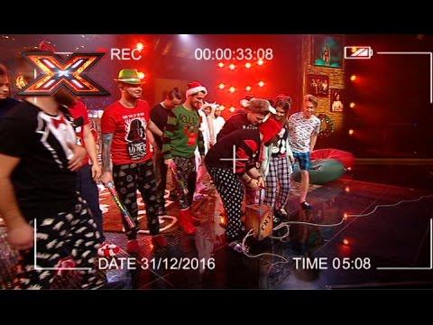Видео: Новогодняя песня - автор Севак Ханагян. Х-фактор 7. ФИНАЛ
