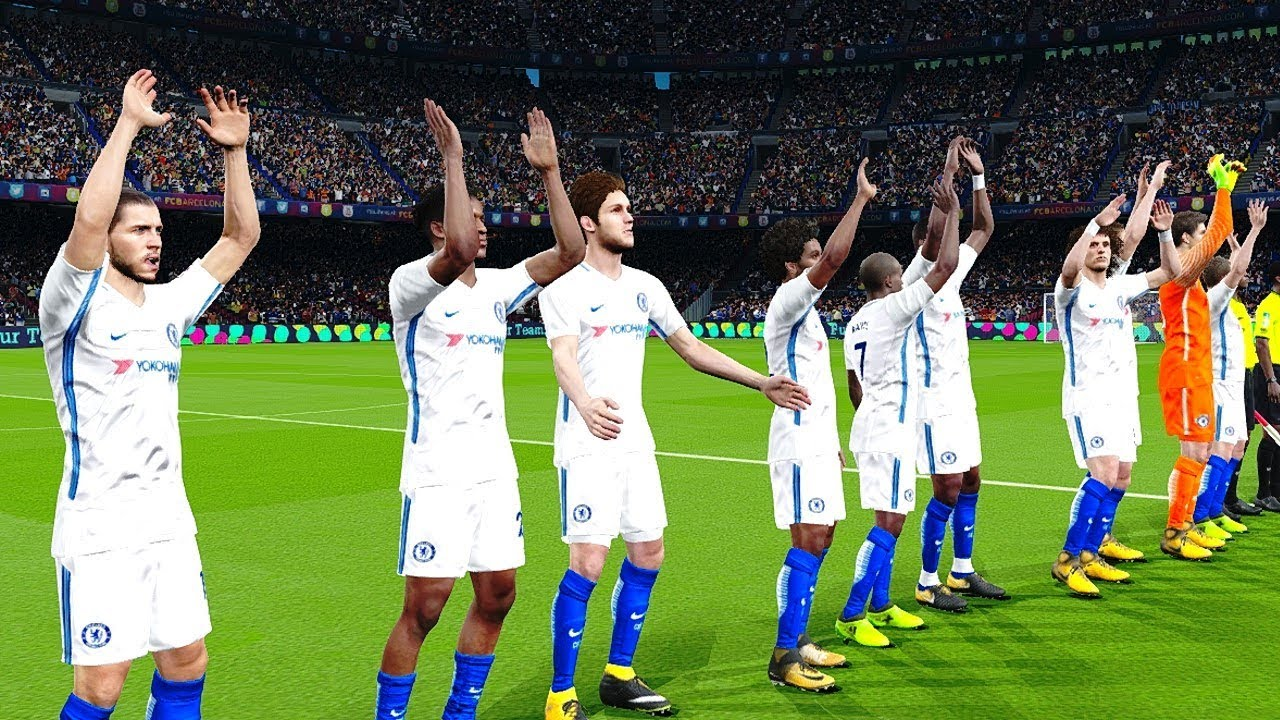 Crystal Palace vs Chelsea 14 October 2017 Gameplay - YouTube