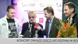 2011 TOP ONE  - Disco Hit Festival Kobylnica 2011 - wywiad