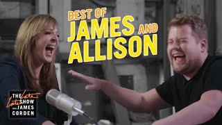 The Best of Allison Janney & James Corden
