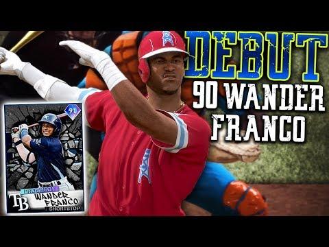 #1 Prospect Wander Franco is UNBELIEVABLE | MLB The Show 20 Diamond Dynasty