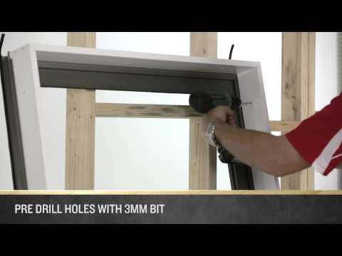 How to Install an A&L Casement Window