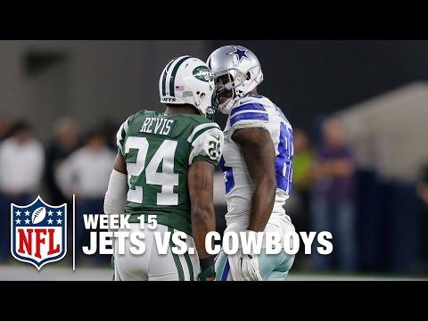 Dez Bryant & Darrelle Revis Get into Shoving Match | Jets vs. Cowboys | NFL
