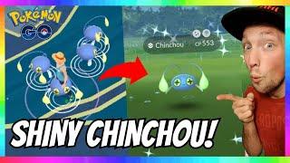 BEST NEW SHINY CHINCHOU MEGA NEST IN POKEMON GO! 100+ SPAWNS! EASY SHINY!