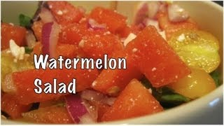 Jump Start June: Watermelon Summer Salad Recipe