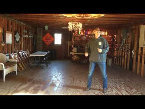 Some Town Somewhere line dance Demo