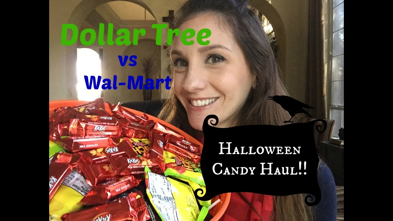 Dollar Tree Halloween Candy