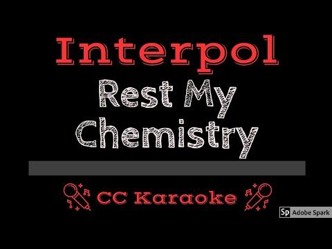 Interpol   Rest My Chemistry CC Karaoke Instrumental Lyrics