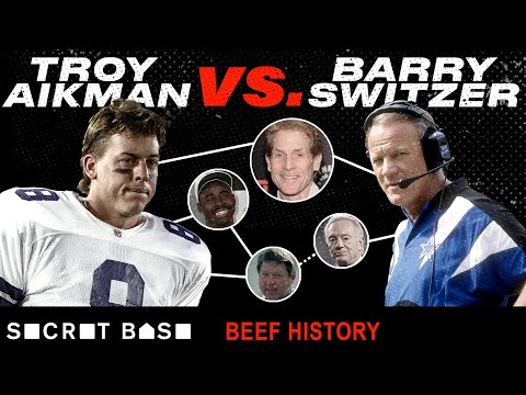 Troy Aikman and Barry Switzer beefed from college to the NFL, with help from Skip Bayless