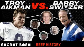 Download Troy Aikman and Barry Switzer beefed from college to the NFL, with help from Skip Bayless Mp3 and Videos