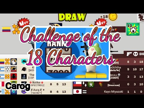 Challenge of the 18 Characters- Carog | Milkchoco!