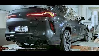 CHIPTUNING BMW X6M F96 Competition 625KM - STAGE 1 - TC-PERFORMANCE - DYNO HAMOWNIA