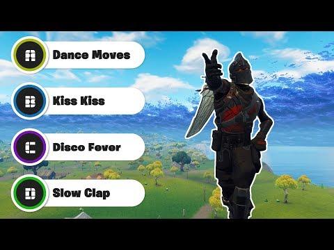 Guess The Fortnite Dance Music (90% FAIL)