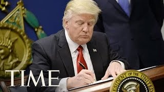 President Trump Signs Executive Order On Free Speech And Religious Liberty | TIME