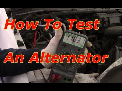 Diagnosing An Alternator Problem - How To Test An Alternator
