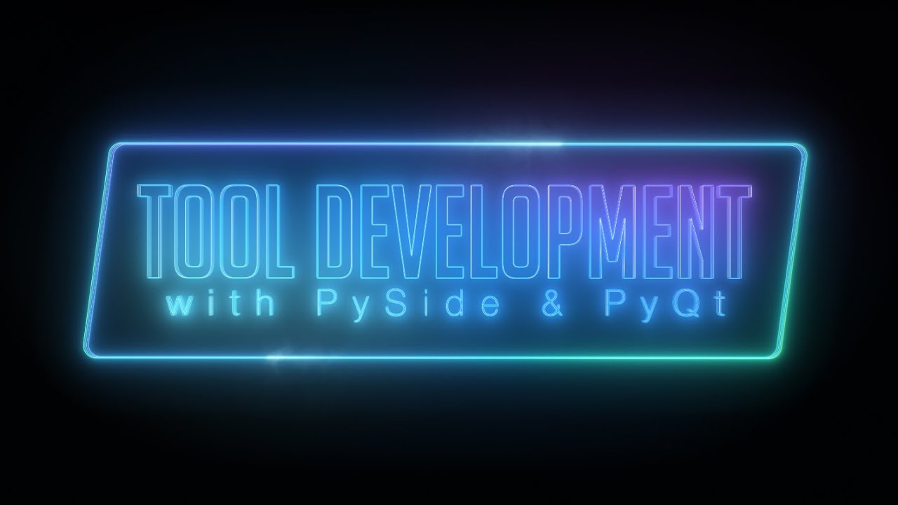 Python Tool Development with PySide & PyQt Trailer