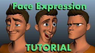 Face ExpressionTutorial (Maya 2018)