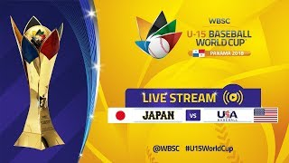 Japan v USA - Super Round - U-15 Baseball World Cup 2018