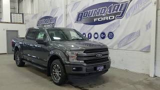2018 Ford F-150 SuperCrew Lariat Sport 502A W/ 3.5L Ecoboost, Tailgate step Overview | Boundary Ford