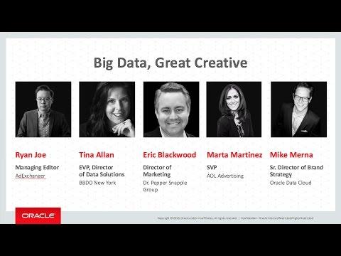 Advertising Week New York 2016: Big Data, Great Creative