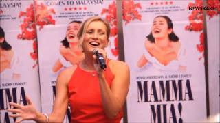 "Mamma Mia - Sara Poyzer - Musical ""MAMMA MIA"" Press Conference in Malaysia"