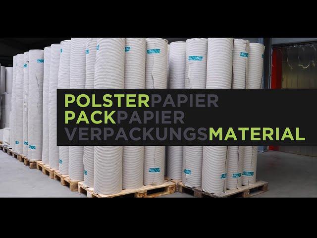 Polsterpapier, Packpapier, Polsterpack: Verpackungsmaterial von Froeb