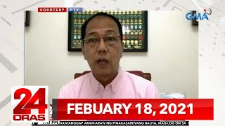 24 Oras Express: February 18, 2021 [HD]