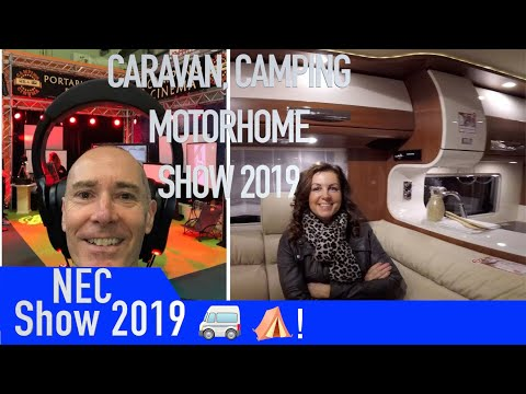 The Caravan, Camping And Motorhome Show At The NEC 2019