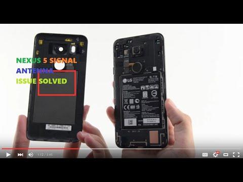 How to fix Nexus 5 sim signal antenna issue
