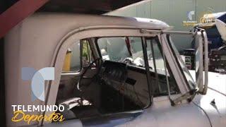 La utilería de la Selección Mexicana viaja en un camión para ganado | Telemundo Deportes