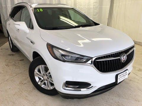 2018 Summit White Buick Enclave AWD Essence UT5799 Motor Inn Auto Group