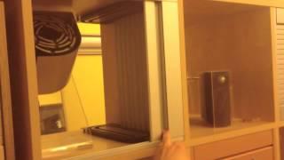 Мебельные жалюзи Рехау(Мебельные жалюзи, ход полотна на заднюю стенку http://rauvolet.ru., 2013-03-27T18:20:04.000Z)