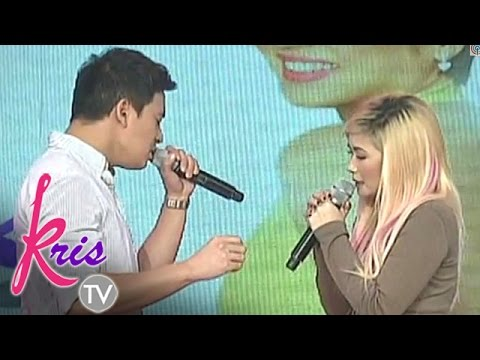 Erik and Yeng sing 'I'll Never Go' on Kris TV